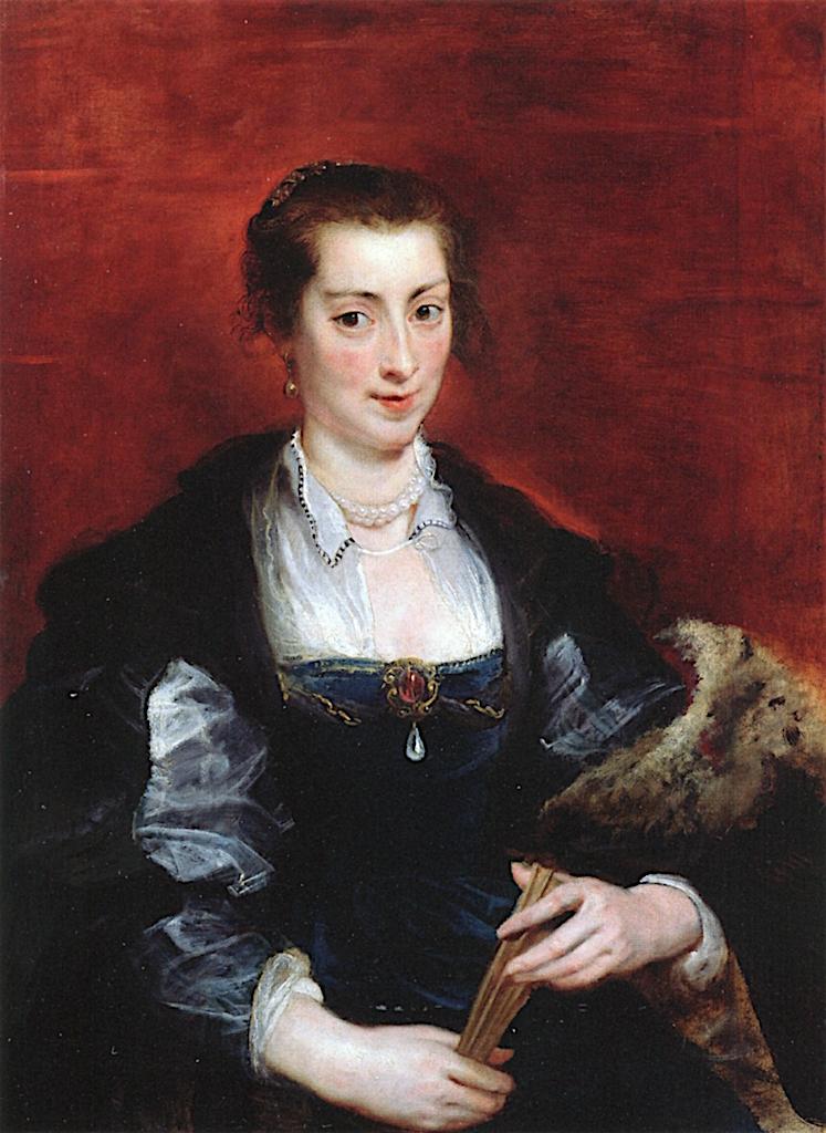Portrait of a Woman   Peter Paul Rubens   oil painting