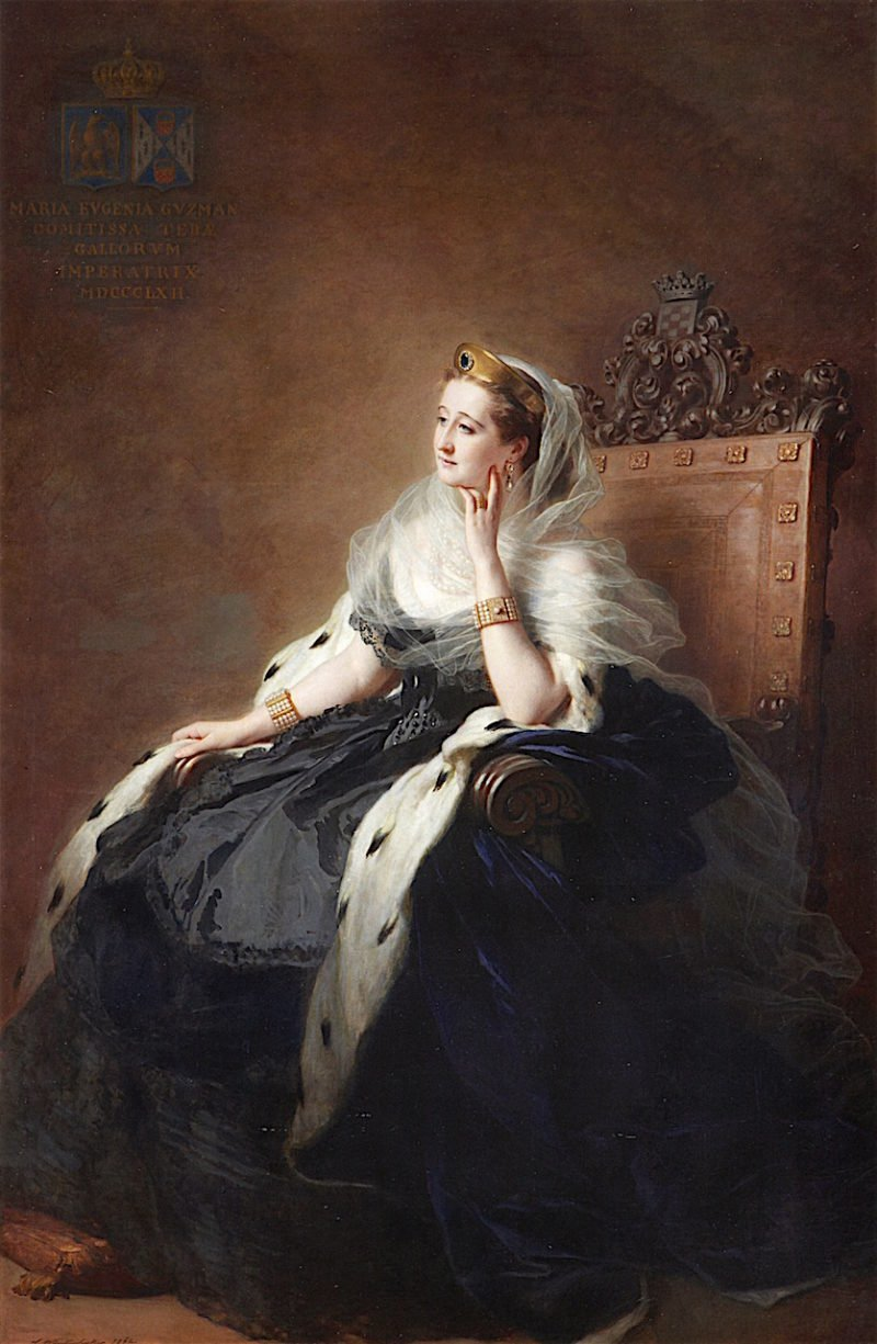 Empress Eugénie   Franz Xavier Winterhalter   oil painting