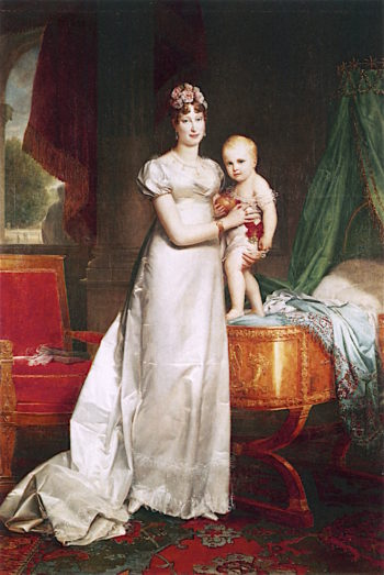 Empress Marie - Louise and Her Son