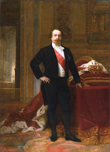 Napoleon III   Alexandre Cabanel   oil painting