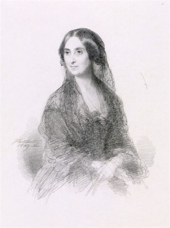 Lady in Spanish Costume   Franz Xavier Winterhalter   oil painting