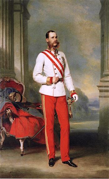 Emperor Franz Joseph I | Franz Xavier Winterhalter | oil painting