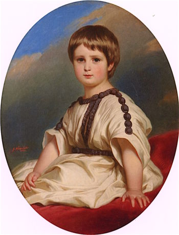 Duke Philipp - Alexander - Marie of Württemberg | Franz Xavier Winterhalter | oil painting