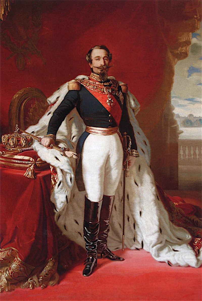 Emperor Napoleon III   Franz Xavier Winterhalter   oil painting