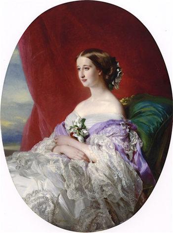 Empress Eugénie | Franz Xavier Winterhalter | oil painting
