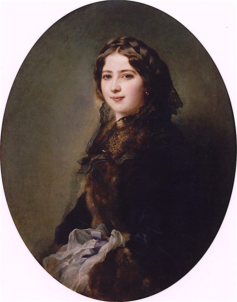 Countess Lise Prze?dziecka | Franz Xavier Winterhalter | oil painting