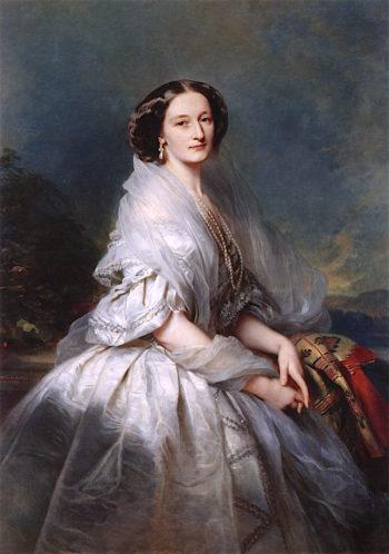 Countess Eliza Krasi?ska née Branicka | Franz Xavier Winterhalter | oil painting