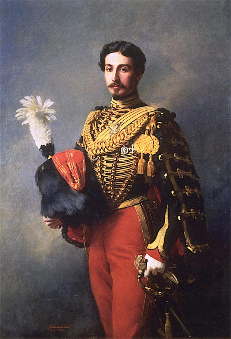douard André | Franz Xavier Winterhalter | oil painting