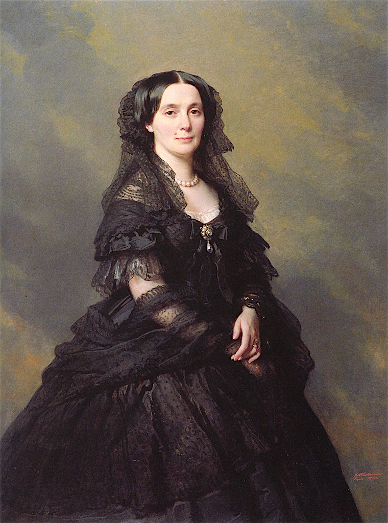 Princess Kotschoubey | Franz Xavier Winterhalter | oil painting