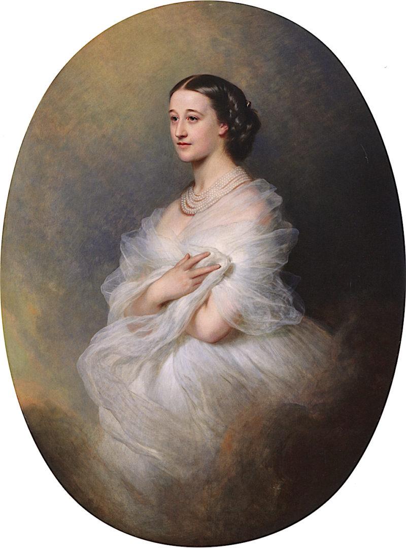Duchess of Alba | Franz Xavier Winterhalter | oil painting