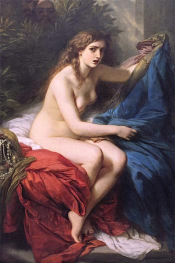 Susanna and the Elders | Franz Xavier Winterhalter | oil painting