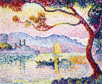 The Small Port of Bacon (Antibes) | Paul Signac | oil painting