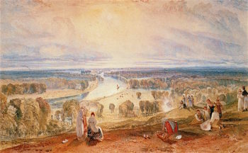 Richmond Hill | Joseph Mallord William Turner | oil painting