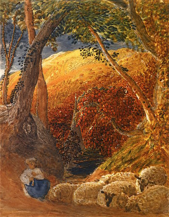 The Magic Apple Tree | Samuel Palmer | oil painting