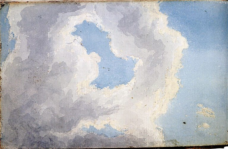 Cloud Study | Samuel Palmer | oil painting