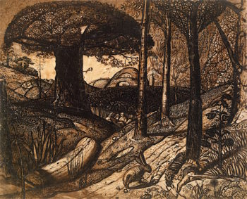 Early Morning | Samuel Palmer | oil painting