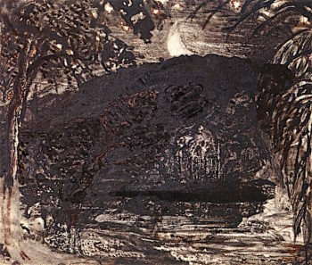 Moonise | Samuel Palmer | oil painting