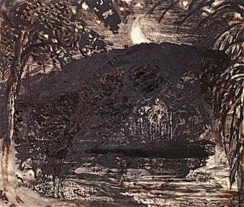 Moonise | Samuel Palmer | oil painting