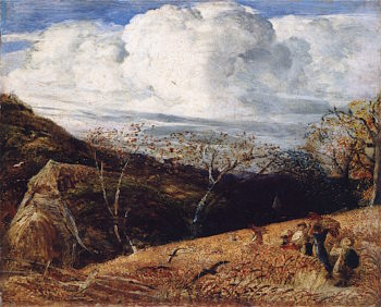 The White Cloud | Samuel Palmer | oil painting