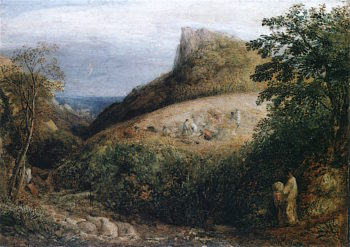 A Pastoral Scene | Samuel Palmer | oil painting