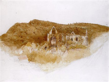 Abbey at Tintern | Samuel Palmer | oil painting