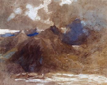 Snowdon from Moel Siabod | Samuel Palmer | oil painting