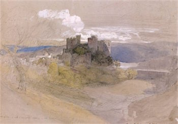 Conwy Castle at Sunset | Samuel Palmer | oil painting