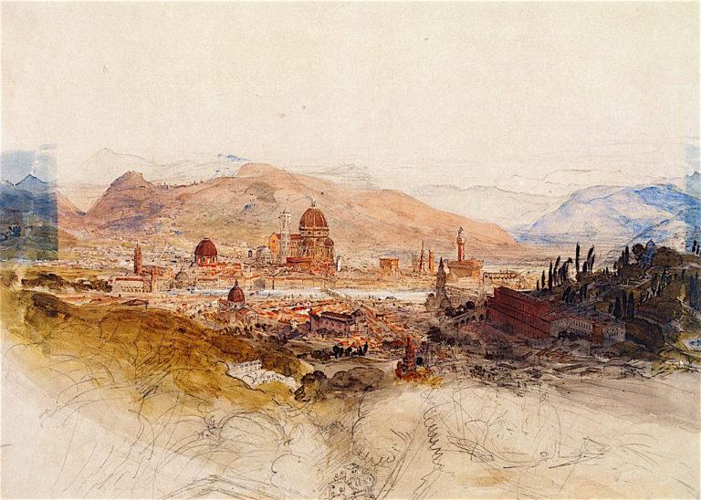 Florence | Samuel Palmer | oil painting