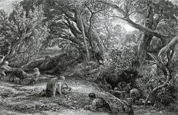 The Morning of Life | Samuel Palmer | oil painting