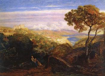 The Prospect | Samuel Palmer | oil painting