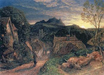 The Bellman | Samuel Palmer | oil painting