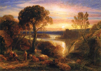 Tityrus Restored to His Patrimony | Samuel Palmer | oil painting