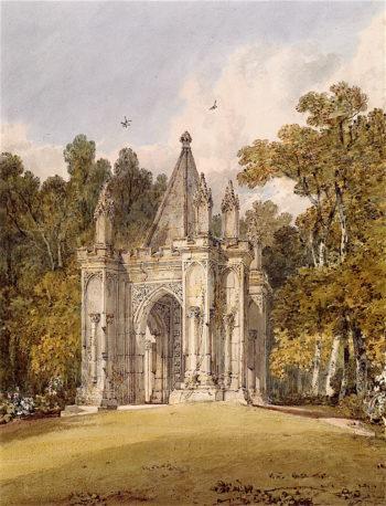The Ancient Arch in Mr Wyndhams Garden