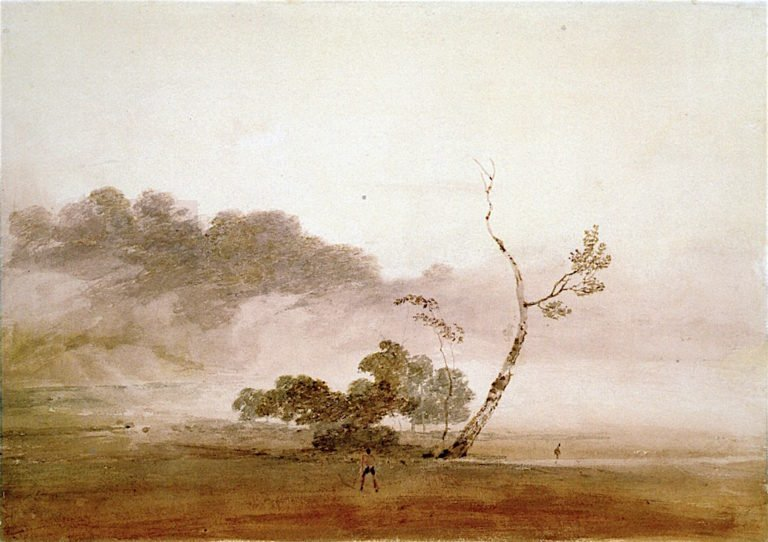 Autumn Morning near Fonthill | Joseph Mallord William Turner | oil painting