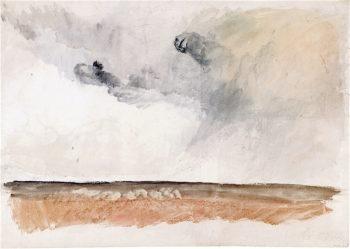 Stonehenge -  Preparatory Study   Joseph Mallord William Turner   oil painting