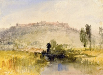 Carisbrooke Castle Isle of Wight | Joseph Mallord William Turner | oil painting