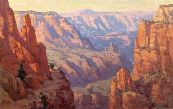 Grand Canyon | Benjamin Chambers Brown | oil painting