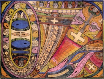 The Kander Valley in the Bernese Oberland | Adolf Wölfli | oil painting