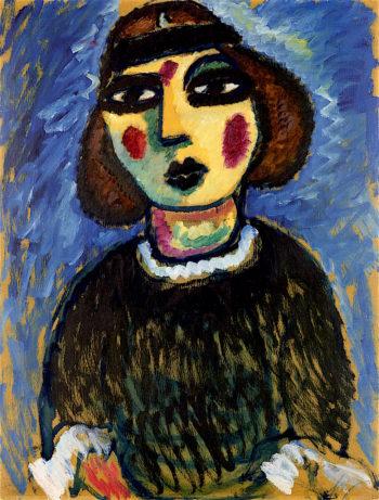 Girl | Alexei von Jawlensky | oil painting