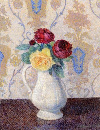 Bouquet of Flowers in a Vase | Albert Dubois-Pillet | oil painting