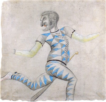 Harlequin | Eric Ravilious | oil painting