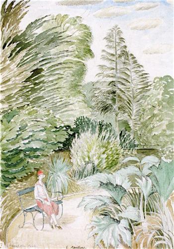 Hampden Park | Eric Ravilious | oil painting