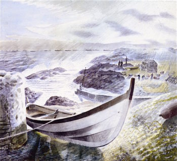 Storm | Eric Ravilious | oil painting
