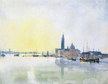 San Giorgio Maggiore - Early Morning | Joseph Mallord William Turner | oil painting