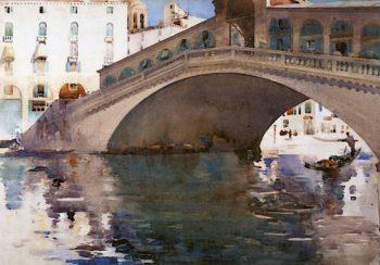 The Rialto | Arthur Melville | oil painting