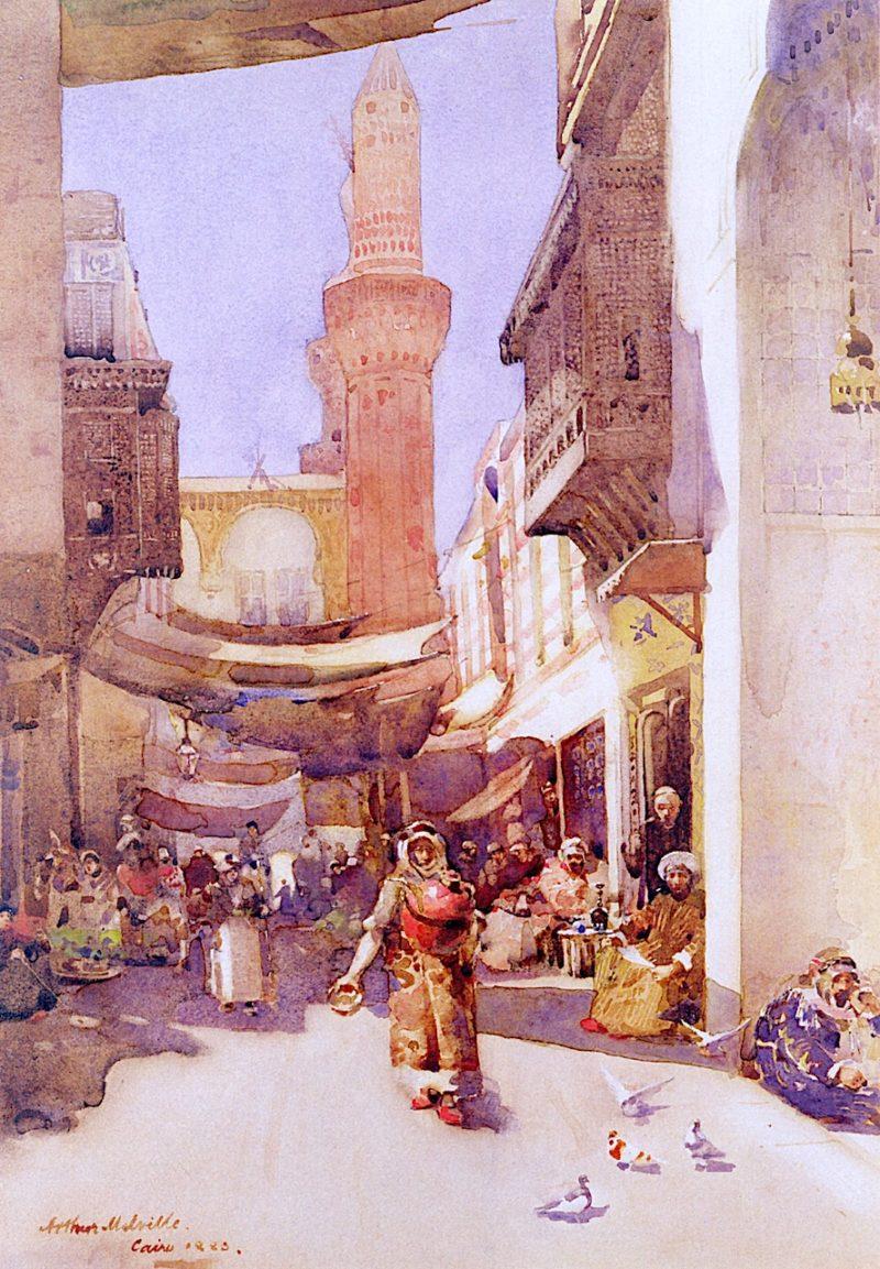 A Cairo Street | Arthur Melville | oil painting