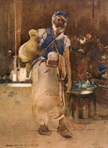 The Water Seller | Arthur Melville | oil painting
