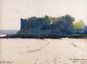 Castle Lachlan | Arthur Melville | oil painting