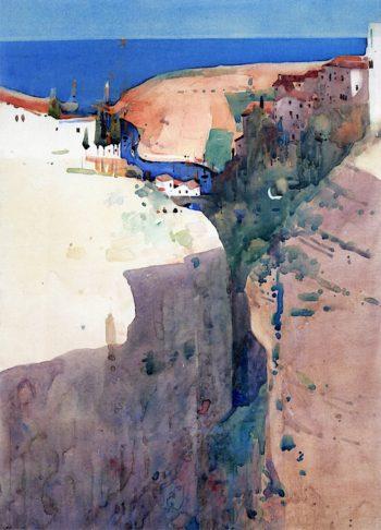 Gorge de Passages | Arthur Melville | oil painting