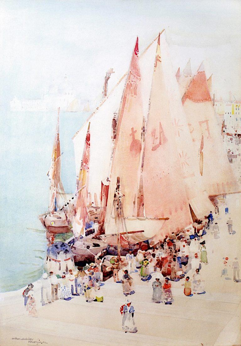 A Sirocco Day   Arthur Melville   oil painting